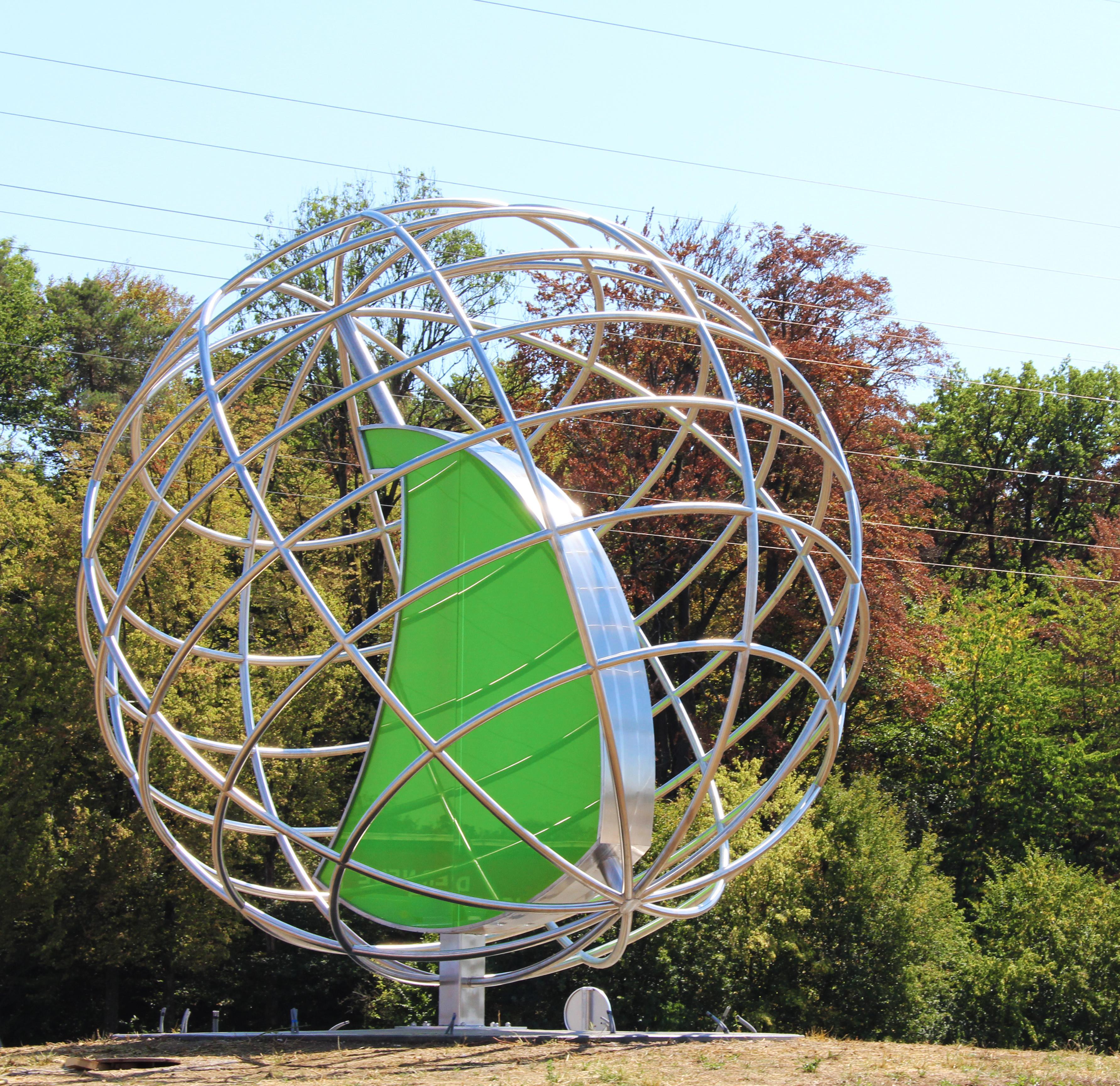 HAI - News - HAI gestaltet Kunst im Kreisverkehr Ranshofen