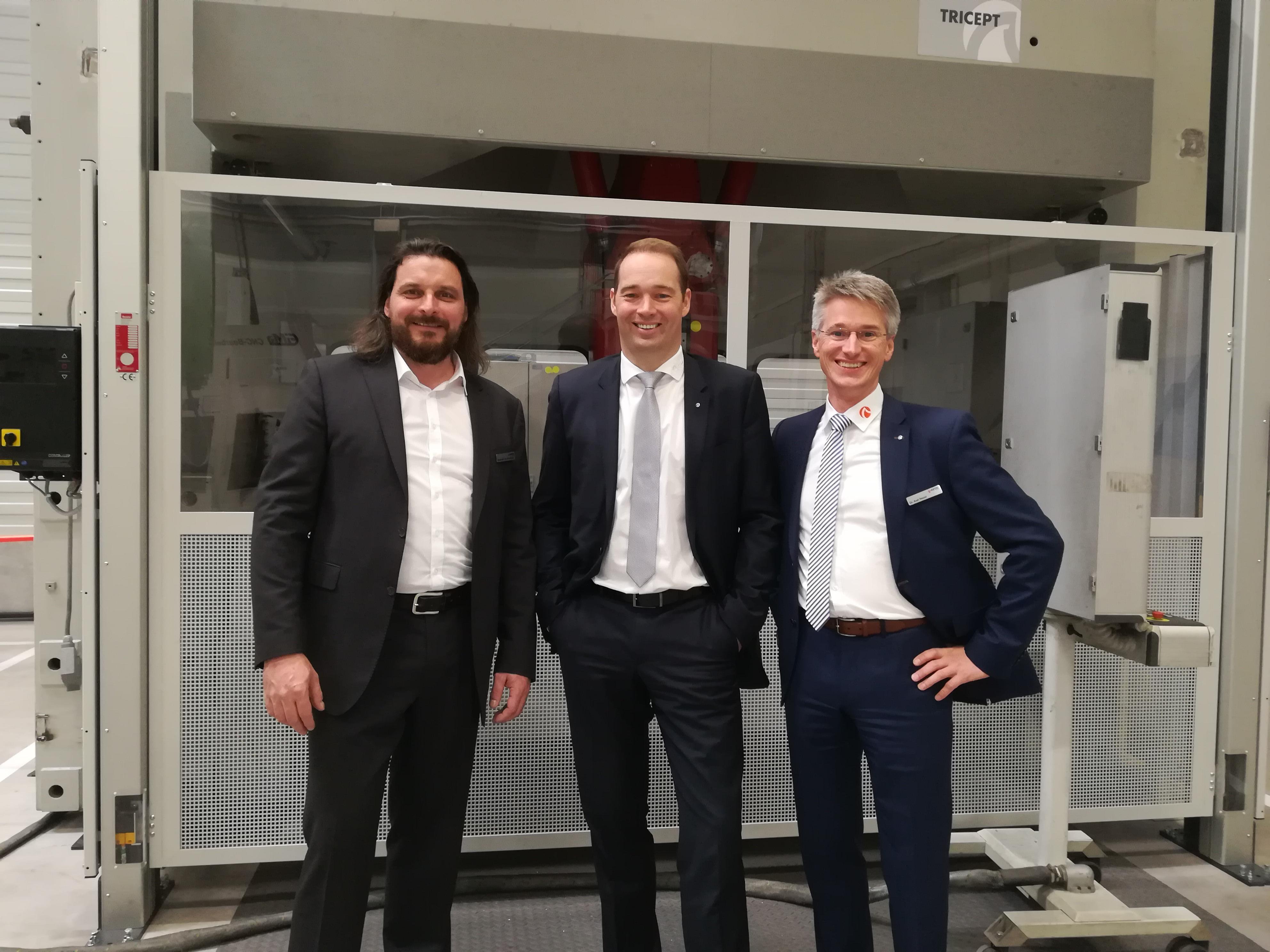 HAI - News - Offizielle Eröffnung des neuen RIFTEC Standorts in Geesthacht